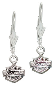 Harley-Davidson® Women's Bar & Shield Dangle Earrings HDE0088