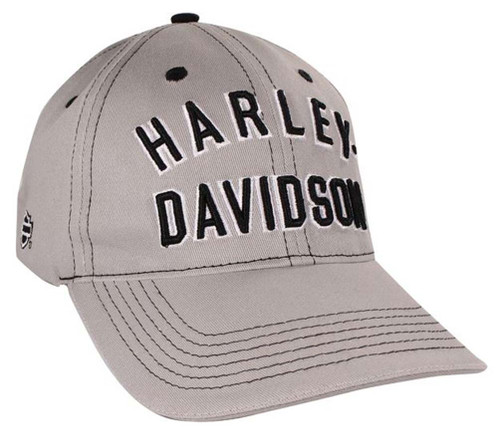 Harley-Davidson® Archetype Light Gray Baseball Cap BC128554