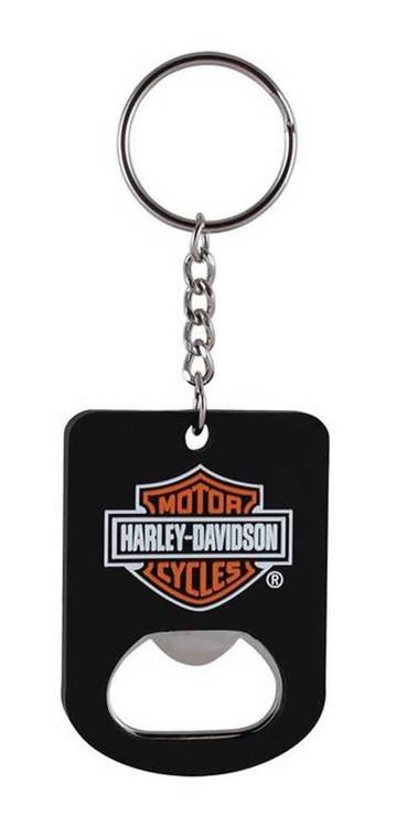 Harley-Davidson® Bar & Shield Bottle Opener Key Chain KY30230