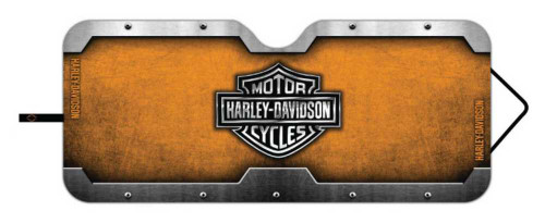 Harley-Davidson® Bar & Shield Accordion Style Car Sun Shade Universal Fit P3676