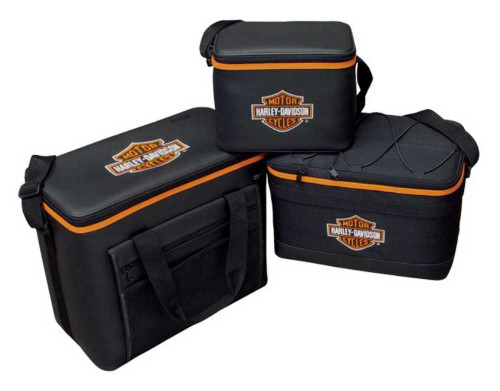 Harley-Davidson® 3 Piece Bar & Shield Cooler Set - 6 / 12 / 24 Packs CLP302301