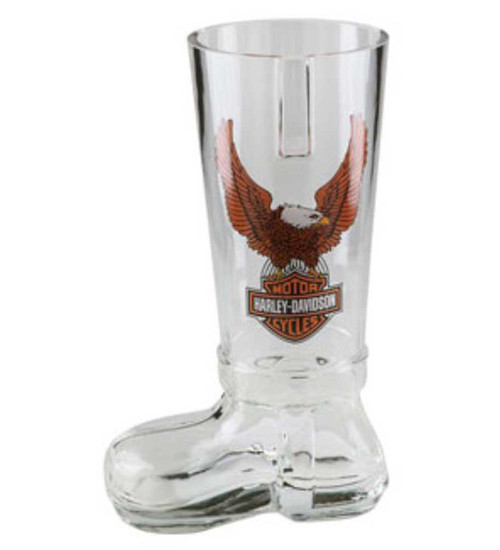 Harley-Davidson® Bar & Shield Eagle German Glass Boot HDL-18727