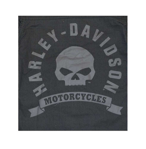 Harley-Davidson® Big Boys' Shop Shirt, H-D Long Sleeve Striped, Black 4391586 - A