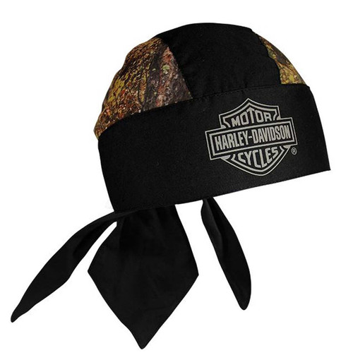 Harley-Davidson® Bar & Shield Head Wrap Camouflage & Black HW30225