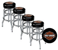 Harley-Davidson® Classic Bar & Shield Logo Bar Stool HDL-12116A SET OF 4