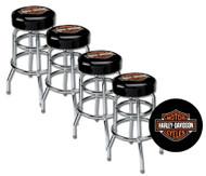Harley-Davidson® Classic Bar & Shield Logo Bar Stool HDL-12116A SET OF 4