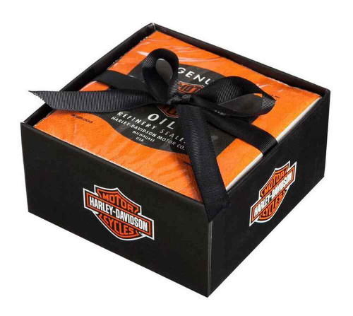 Harley-Davidson® Beverage Napkin Oil Can Tailgate Rally Party Pack, P5514900RF - A