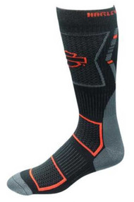 Harley-Davidson® Wolverine Men's CoolMax Mid Calf Riding Socks D99085270-001