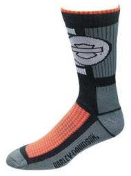 Harley-Davidson® Wolverine Men's CoolMax Wicking Riding Socks, Gray D99085370-020