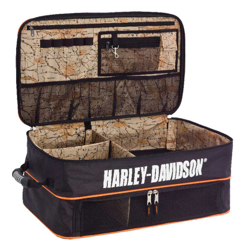 Harley-Davidson® Bar & Shield Trunk Locker Organizer, 10 x 24 x 14 inches 99615 - C