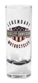Harley-Davidson® Legendary Bar & Shield Decal Shot Glass, 2.5 oz. 96895-16V