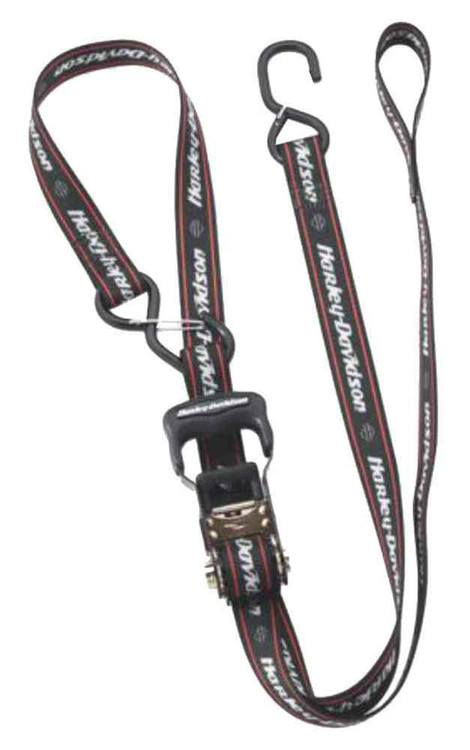 Harley-Davidson® 1.25 in Ratchet Tie-Down Straps w/ Integrated Soft Hook 94704-10