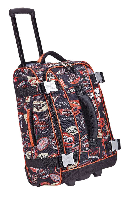 Harley-Davidson® 29 In Vintage Hybrid Rolling Luggage, Rugged & Durable 99630-VIN