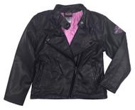 Harley-Davidson® Little Girls' Winged Bar & Shield PU Biker Jacket, Black 6033691