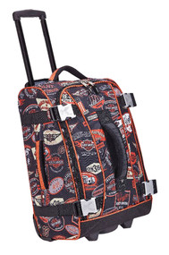Harley-Davidson® 21 In Vintage Hybrid Rolling Luggage, Rugged & Durable 99620-VIN