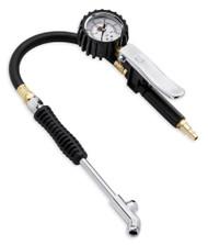 Harley-Davidson® Motorcycle Tire Pressure Gauge & Fill Valve, 18 in Hose 12700096