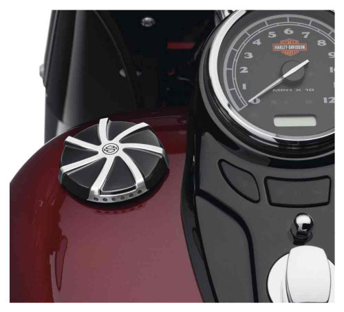 Harley-Davidson® Agitator LED Fuel Gauge, Fits Dyna, Softail & Touring 70900521