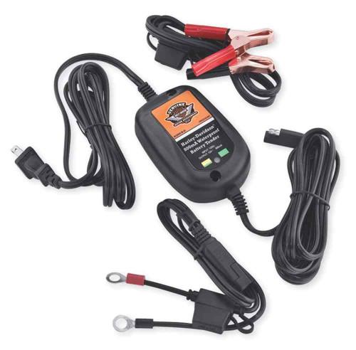 Harley-Davidson® 800mA Waterproof Battery Tender, For 12-Volt Batteries 66000004