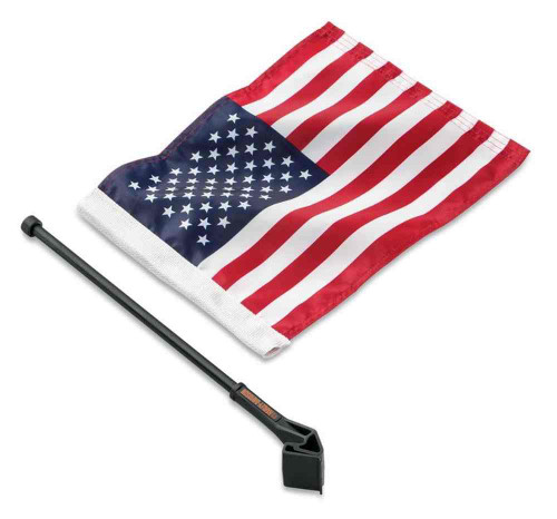 Harley-Davidson® American Flag Kit, Touring & Trike Models, High-Quality 94626-98