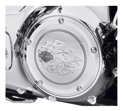 Harley-Davidson® B&S Flames Derby Cover, Fits Touring & Trike Models 25700473
