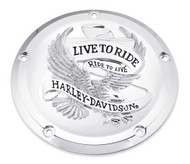 Harley-Davidson® Live to Ride Derby Cover, Fits Touring & Trike Models 25700471