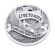 Harley-Davidson® Live to Ride Timer Cover, Fits XL & XR Models 32581-85T
