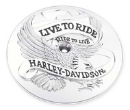 Harley-Davidson® Live to Ride Air Cleaner Trim, Fits Dyna & Etc. Models 29341-02