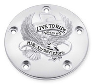 Harley-Davidson® Live to Ride Timer Cover, Fits Twin-Cam Models 32698-02A