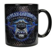 Harley-Davidson® Police Original Ceramic Coffee Mug, 11 oz. Black CM126389