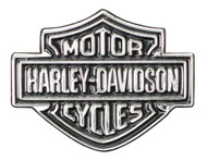 Harley-Davidson® Bar & Shield Logo Lapel Pin, 2D Nickel Plated Die Cast P302661