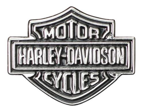 Harley-Davidson® Bar & Shield Logo Lapel Pin, 2D Nickel Plated Die Cast P302661