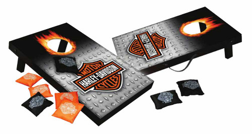 Harley-Davidson® Bar & Shield Mini Cornhole Bean Bag Toss, 10.5 x 16 Inches 66248