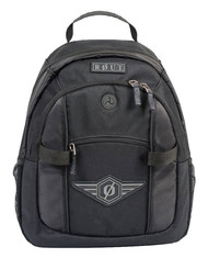 ROUT Adventurer Day Backpack, Strong Wear-Resistant Nylon, Solid Black RBP9137