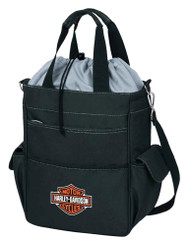 Harley-Davidson® Activo Insulated Cooler Tote, Bar & Shield Logo, Black 614-00  - Wisconsin Harley-Davidson