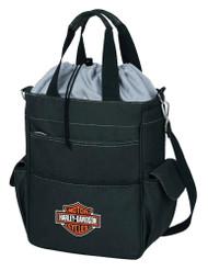 Harley-Davidson® Activo Insulated Cooler Tote, Bar & Shield Logo, Black 614-00  - Wisconsin Harley-Davidson