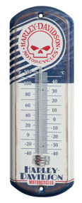 Harley-Davidson® Retro Willie G Skull Mini Thermometer, 4.125 x 12 inch HDL-10099
