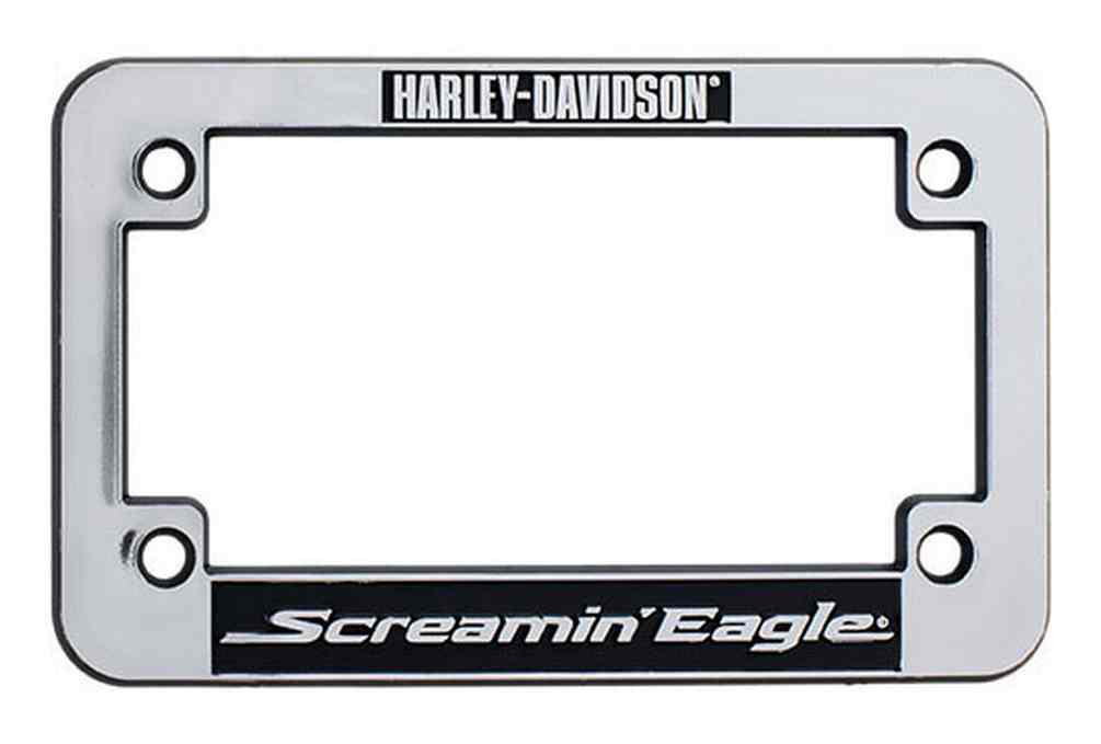 Harley Davidson 174 Screamin Eagle Motorcycle License Plate