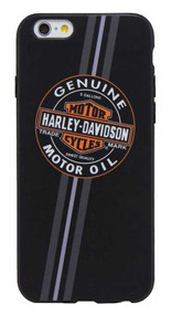 Harley-Davidson® Men's Genuine Motor Oil B&S iPhone 6/6S Phone Shell, Black 7821