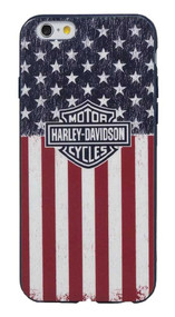 Harley-Davidson® Men's Americana Bar & Shield Flag iPhone 6/6S Phone Shell 7844