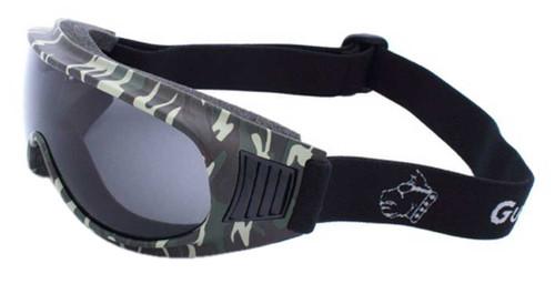 Guard-Dogs Unisex Commander I Smoke Lens FogStopper Goggles, Camo 050-12-16