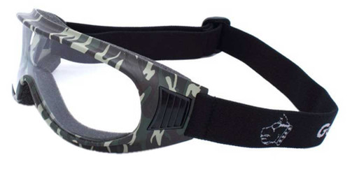 Guard-Dogs Unisex Commander I Clear Lens FogStopper Goggles, Camo 050-11-16