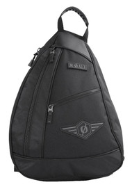 ROUT Adventurer Sling Backpack, Adjustable & Padded Waist, Solid Black RBP9144