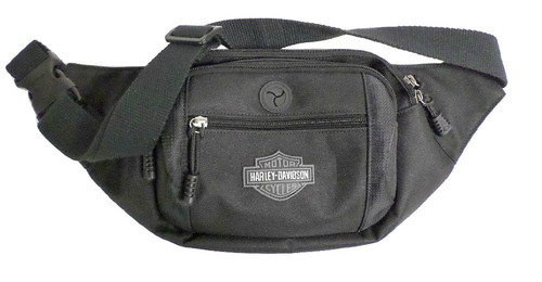 Harley-Davidson® Bar & Shield Logo Crossbody / Waistpack Bag, Black BP2200S-BLACK