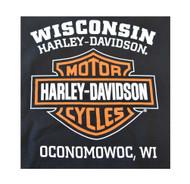 Harley-Davidson® Men's Bar & Shield Logo Short Sleeve Polo Shirt, Black