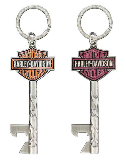 harley davidson his hers bar shield keys bottle. Black Bedroom Furniture Sets. Home Design Ideas