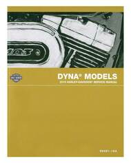 Harley-Davidson® 2016 Dyna Models Motorcycle Service Manual 99481-16A