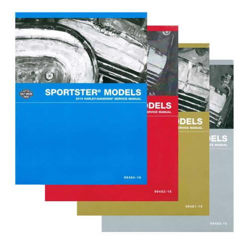 Harley-Davidson® 2016 V-Rod VRSC Models Motorcycle Service Manual 99501-16