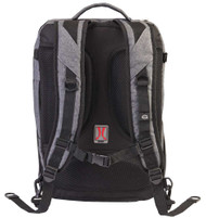 Harley-Davidson® Transport Water-Resistant Backpack, Gray & Black 99221-GB