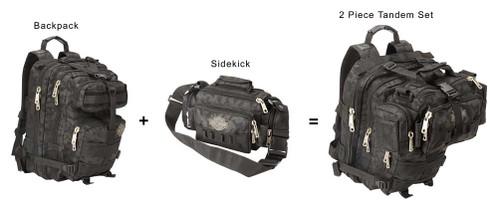 "Harley-Davidson® ""Molle"" Versatile Lightweight Sidekick Bag, Gray  99403-GB"