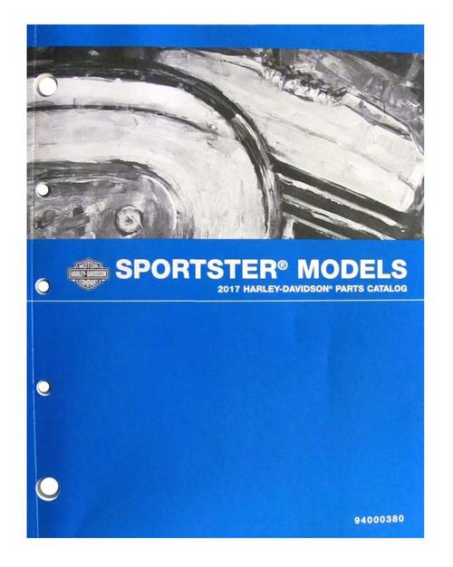 Harley-Davidson® 2017 Sportster Models Motorcycle Service Manual 94000384